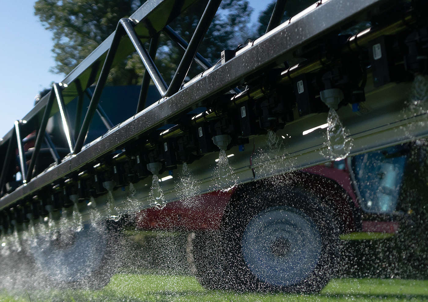 HORSCH product image: The PrecisionSpray system sprays with a regular frequency of 20 Hz.
